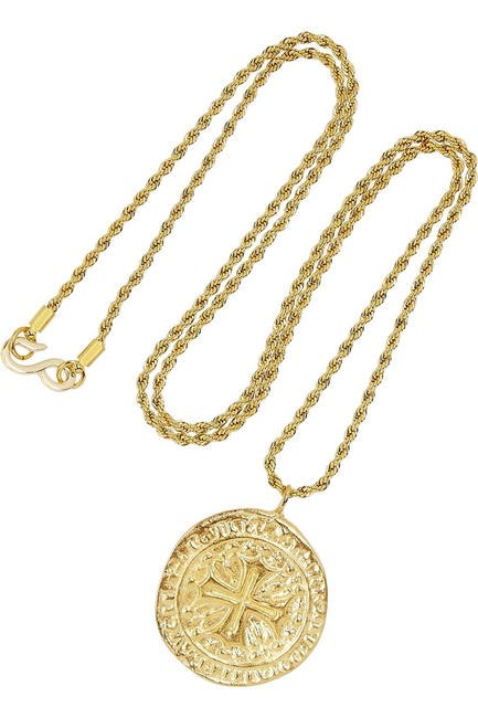Gold-plated pendant necklace, Kenneth Jay Lane