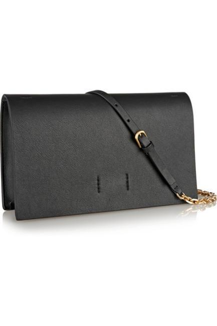 Leather Shoulder Bag, Calvin Kelin Collection