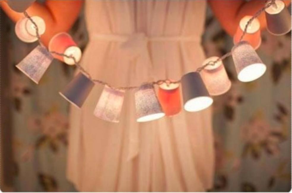 Paper Cup Lights