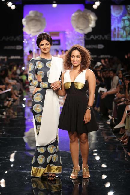 Shilpa Shetty was the showstopper for Masaba Gupta