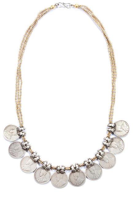 Silver necklace, Amrapali