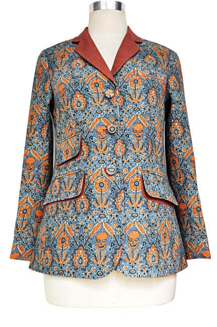 Ajrakh Jacket that will be showcased at the V&A Museum