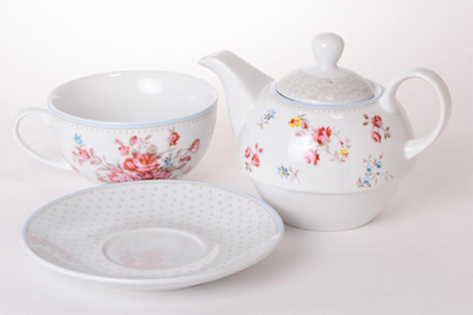 Blue Garden Party Tea Set, The Wishing Chair, INR 1,200