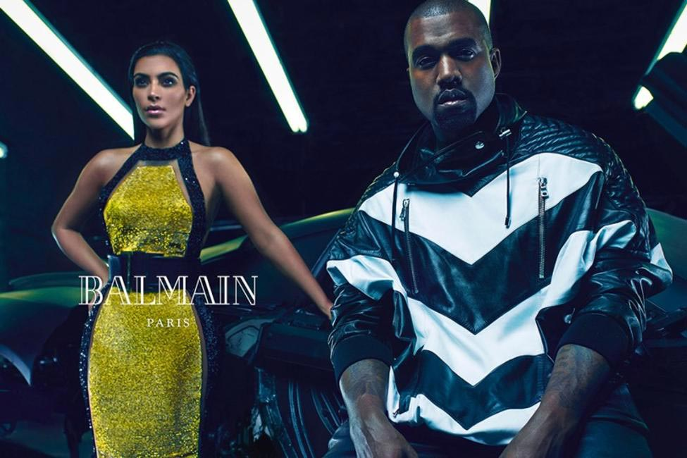 Chevron and cut-outs - Kimye are heating it up!