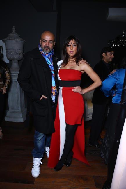 Gautam Kalra with Malini Ramani