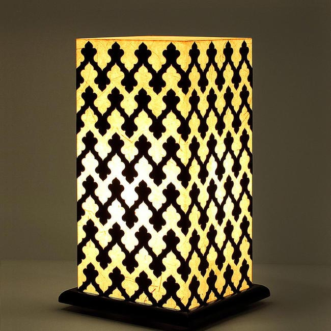 Patterned table lamp, India Circus, INR 1,081