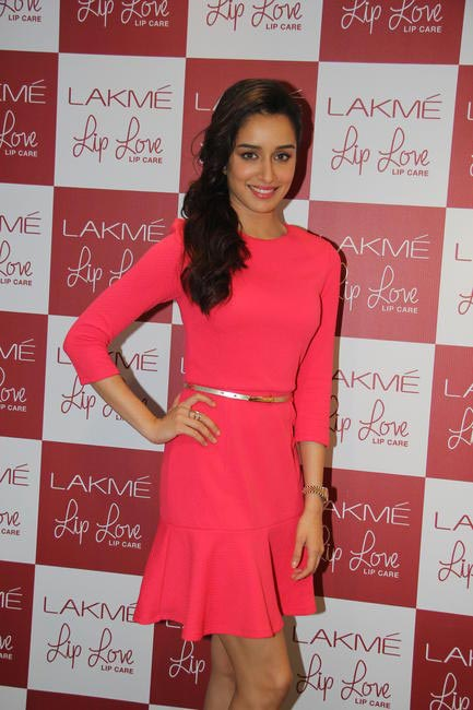 Shraddha Kapoor at the Lakme Lip Love launch