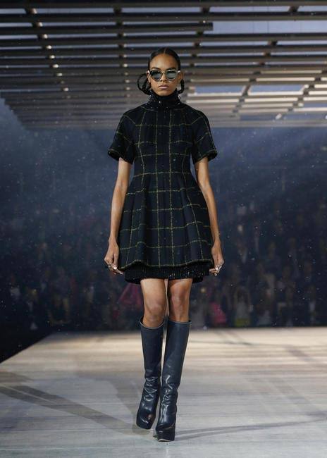 Tartan never looked this chic!