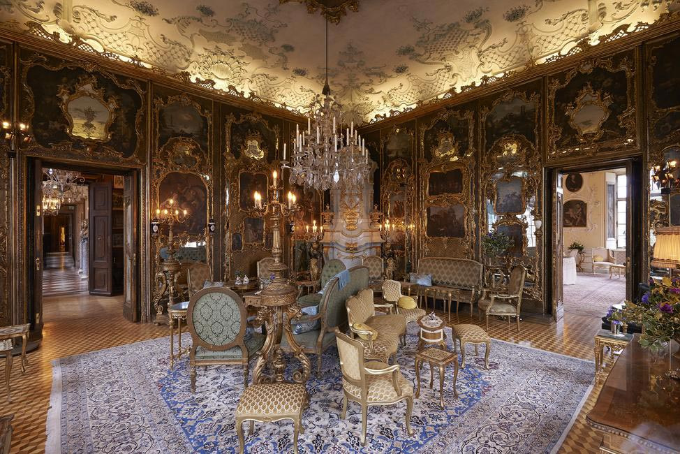 The Venetian Room at the Schloss Leopoldskron palace