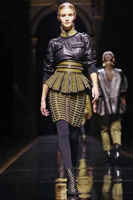 Balmain Autumn Winter 2014 - PFW