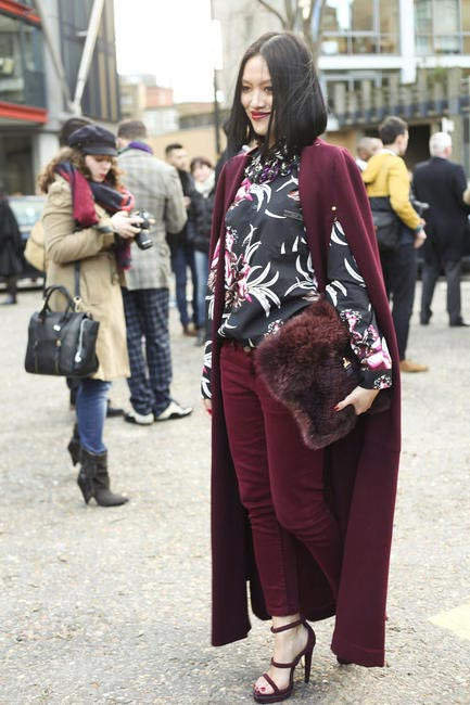 Chic Street Style At London Fashion Week AW 2014