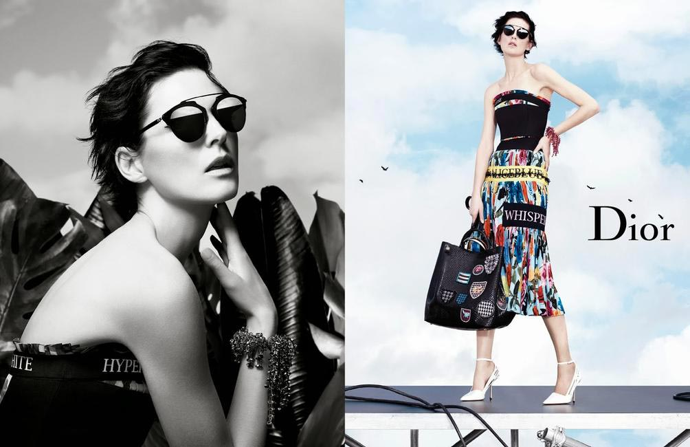 Christian Dior SS 2014 campaign
