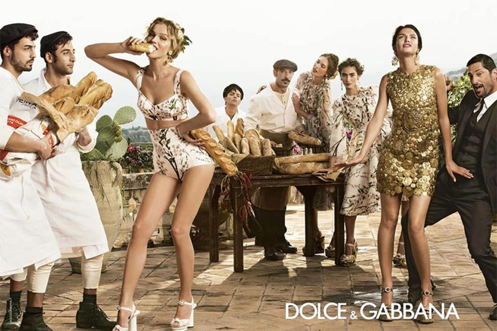 Dolce & Gabbana Spring Summer 2014 ad captures the essence of Sicilian themed parties
