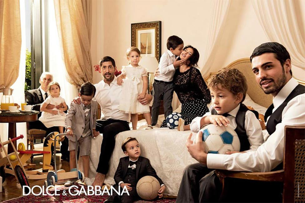 Dolce & Gabbana Spring Summer 2014 Campaign revolves around over-the-top Italian families