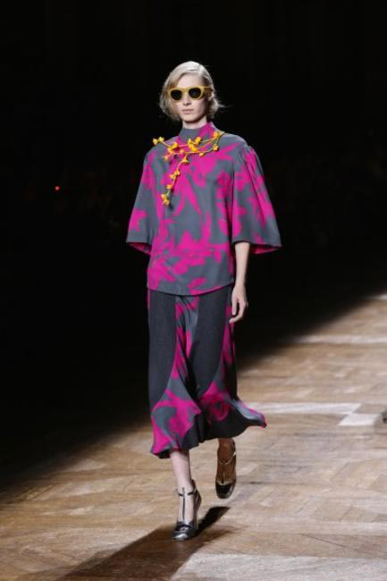 Dries Van Noten at Paris Fashion Week RTW 2014