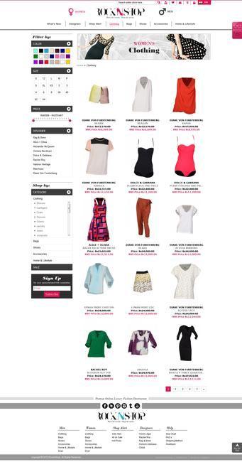 Exclusive first look at Rocknshop.com - Shop