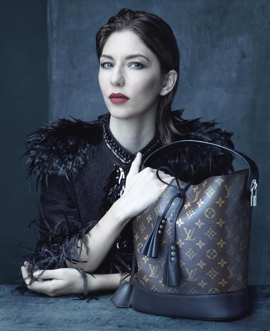 Louis Vuitton SS 14 ad featuring Sofia Coppola