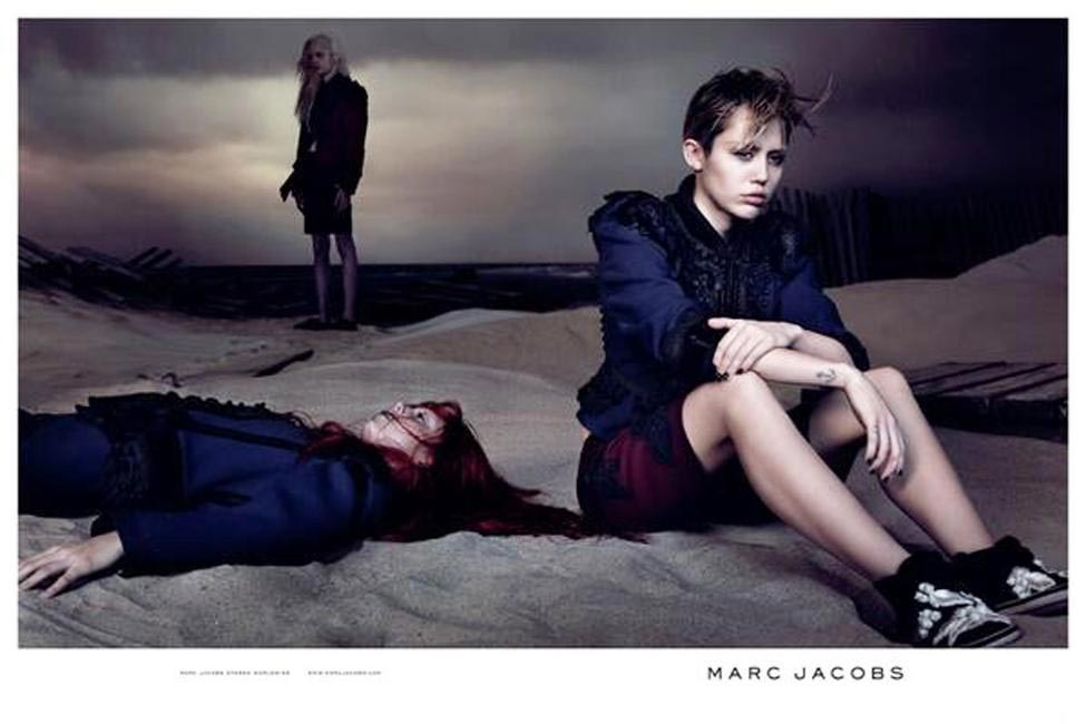 Marc Jacobs SS 2014 campaign featuring Miley Cyrus