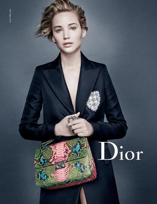 New Miss Dior campaign featuring Jennifer Lawrence