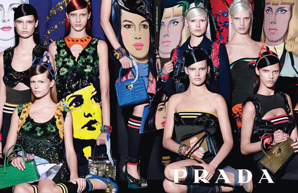 Prada SS 2014 campaign by Steven Meisel