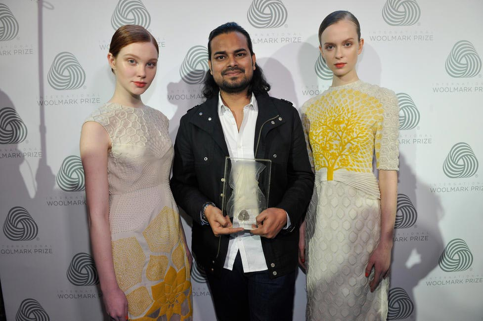 Raul Mishra with models