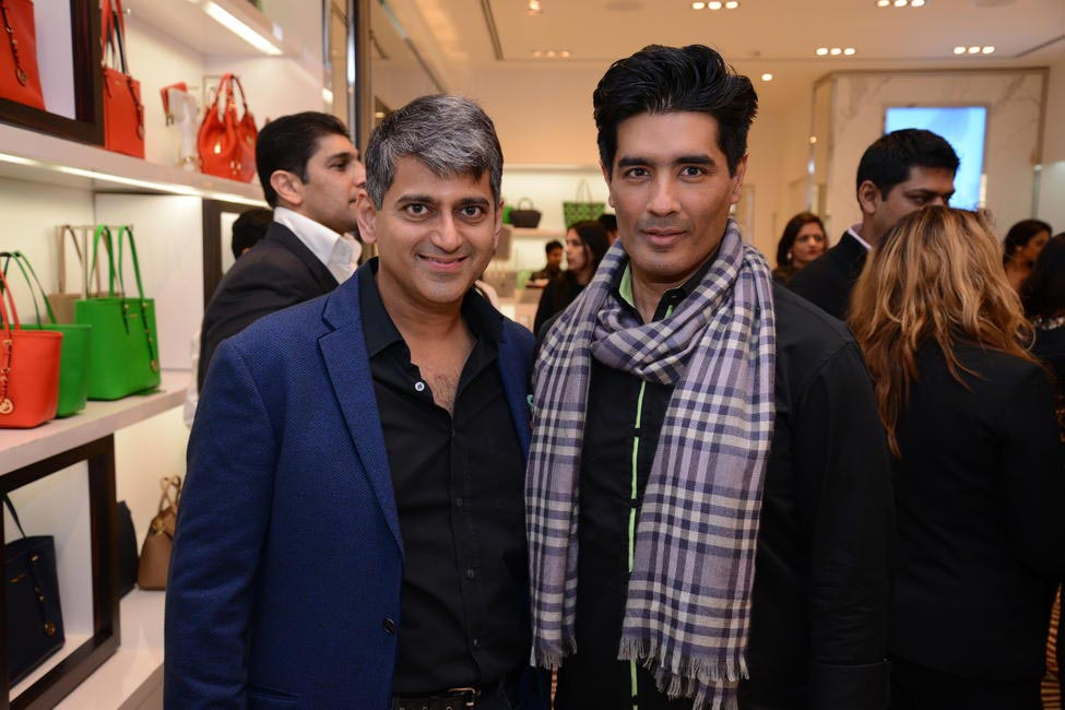 Sanjay Kapoor and Manish Malhotra