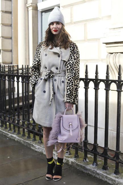 Street Style At LFW AW 2014