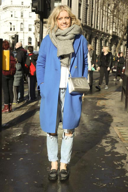 Street Style At London Fashion Week Autumn Winter 2014