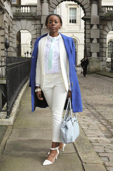 Street Style At London Fashion Week AW '14