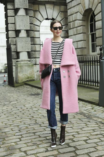 Street Style At London Fashion Week AW 2014