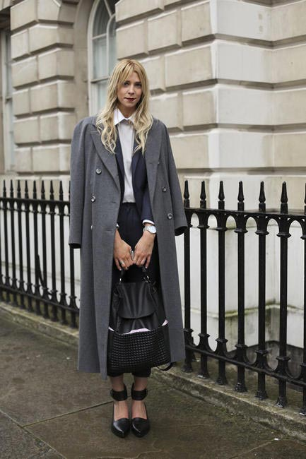 Street Style At London-Fashion-Week-AW-2014