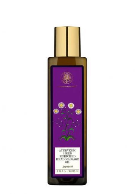 4. Forest Essential Ayurvedic Herb Enriched Oil