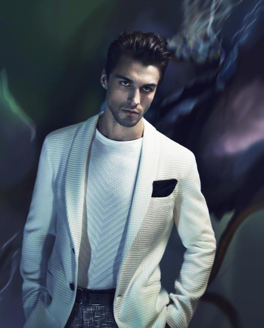 Giorgio Armani SS 2014 campaign - Menswear