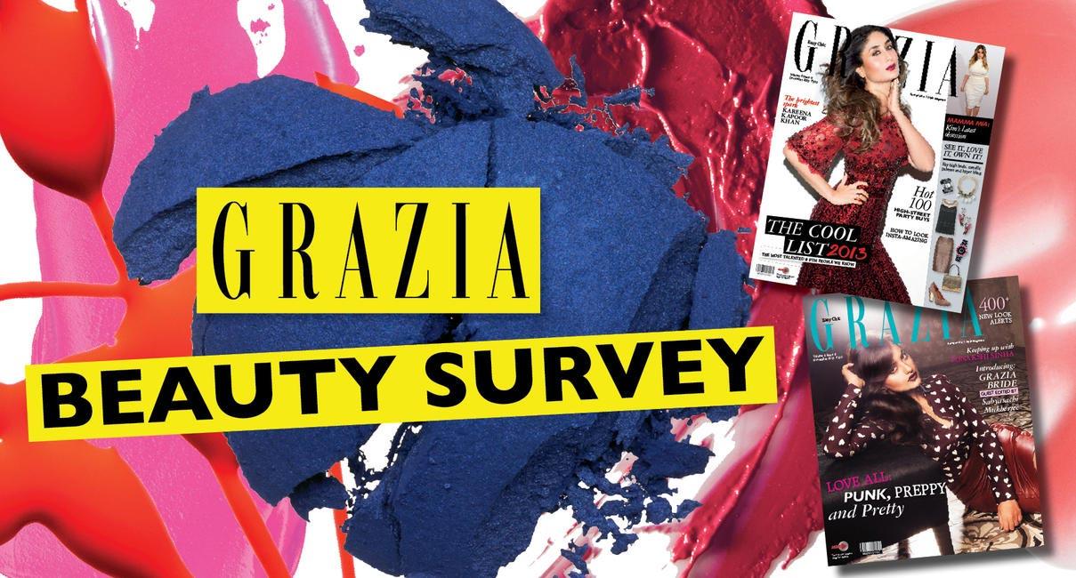 Grazia Beauty Survey