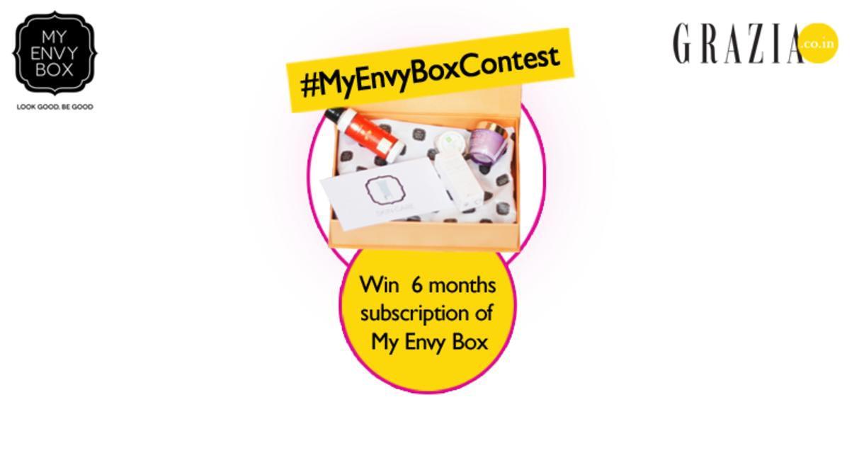 Grazia.co.in My Envy Box contest