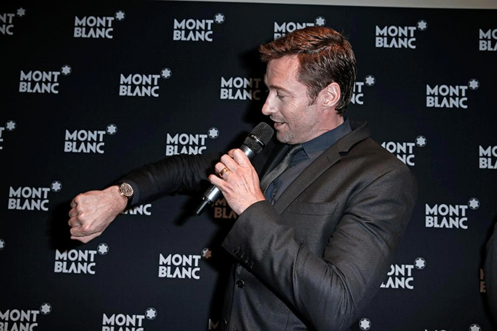 Hugh Jackman the new face of Montblac