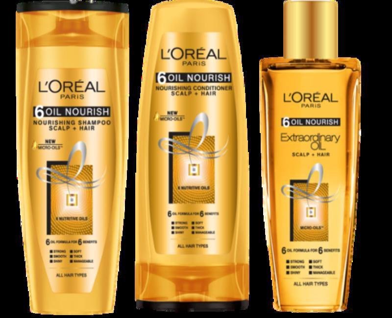 L'Oreal 6 Oils Range