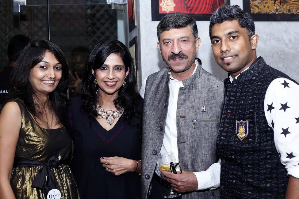 Vivek , Shreya Karunakaran and Niki Mahajan
