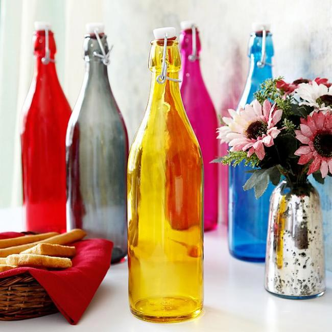 Bormioli Rocco Giara Bottle Giallo, Fab Furnish, INR 385