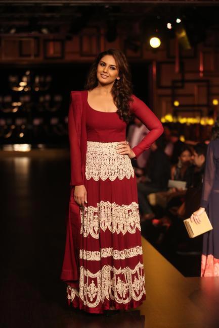 Huma Qureshi for Manish Malhotra