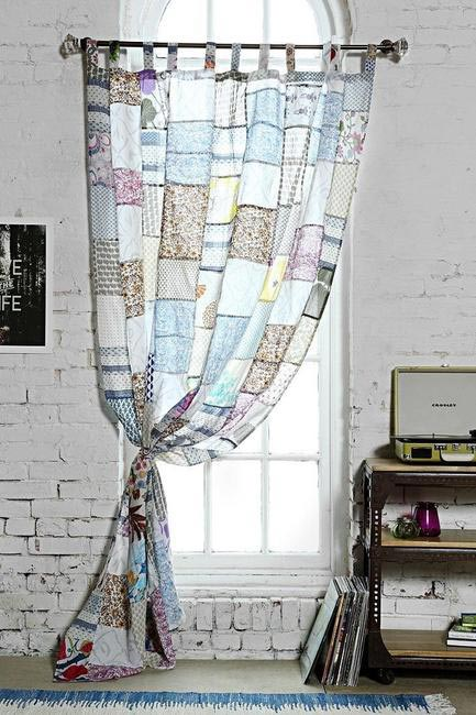 Magical Thinking Patchwork Curtain, Urban Outfitters, INR 4,745 (approx)