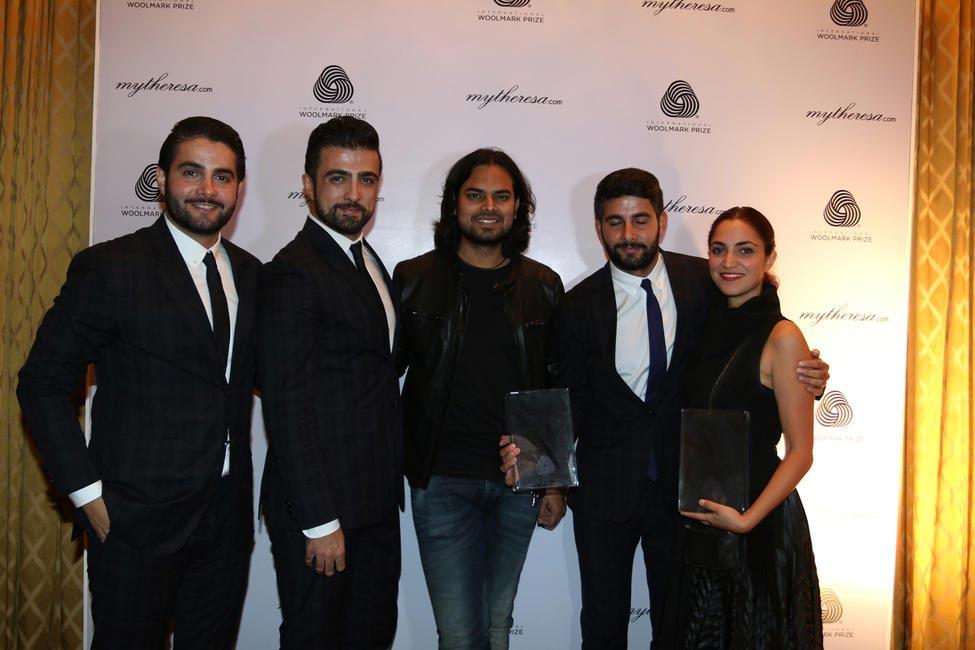 Rahul Mishra & the winning designers