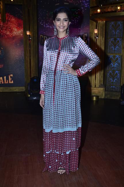 Sonam Kapoor in a Dev R Nil dress, Photo by Viral Bhayani
