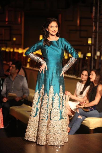 Urmila Matondkar for Manish Malhotra