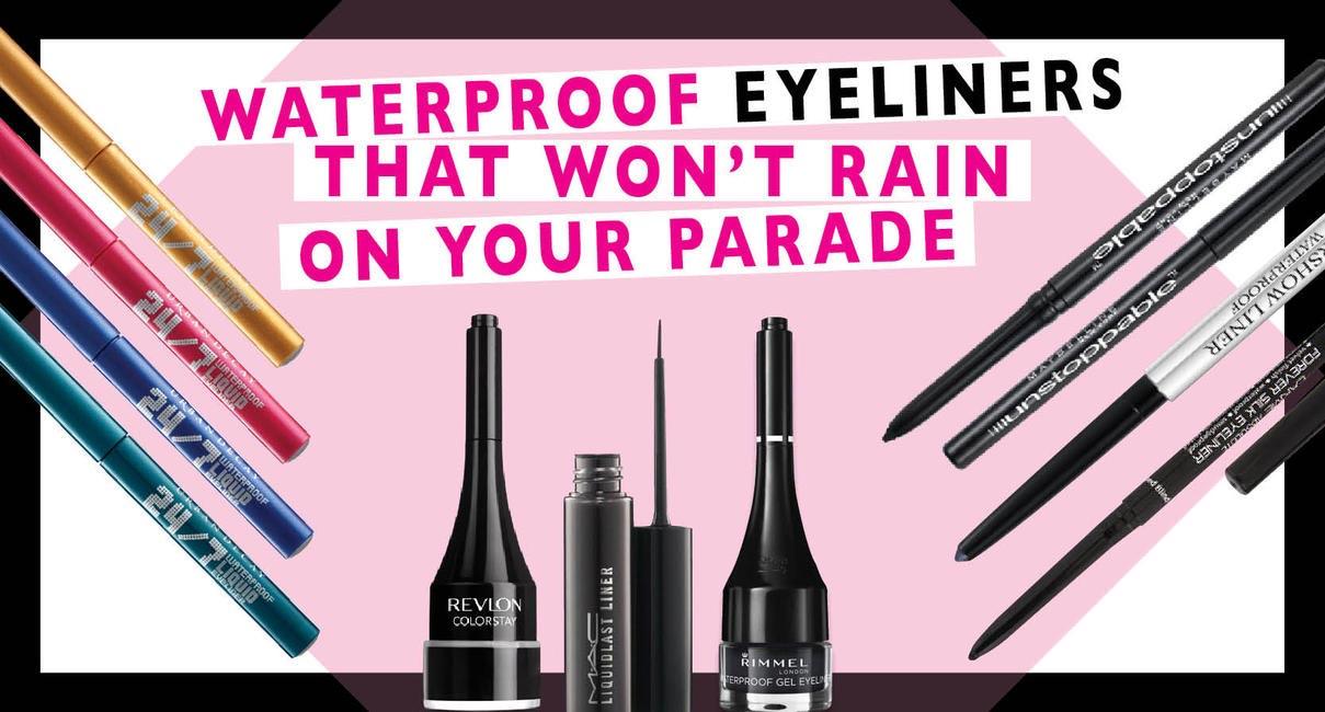 Waterproof Eyeliners