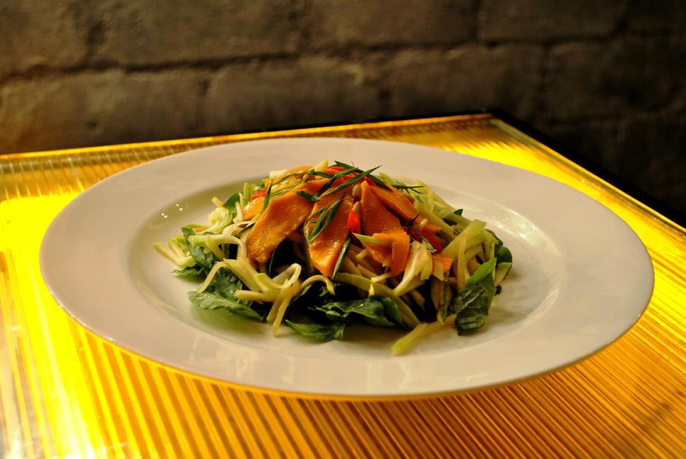 Asian Raw & Ripe Mango Salad