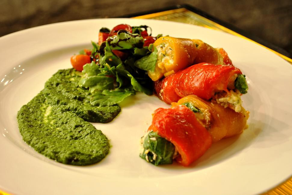 Bell Pepper Roulade