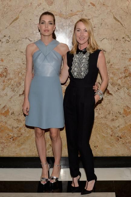 Charlotte Casiraghi & Frida Giannini