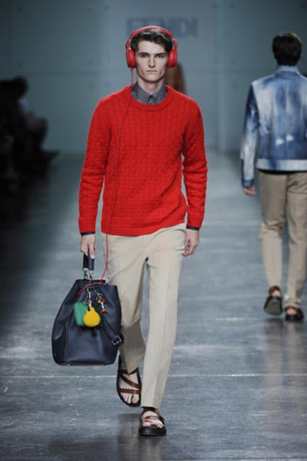 FENDI's Spring:Summer 2015 Men�??s Runway show
