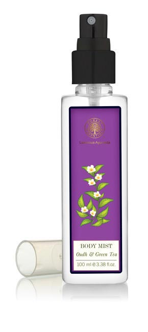 Forest Essentials BODY MIST (GREEN TEA and OUDH) Rs 1475